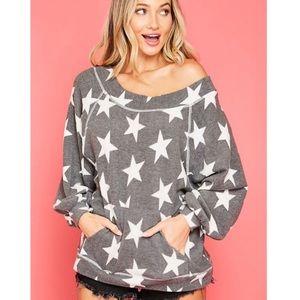Ultra Soft Oversized Fleece Sweatshirt